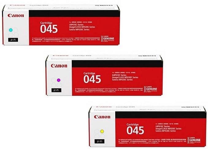 Canon Lasers Cartridge 045 Cyan, Standard Canon Original 045 Toner  Cartridge - Cyan