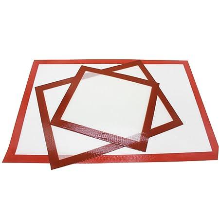 Inchant 3 Pack Silicona Formas Mat Set - Resuable Horno lámina de ...