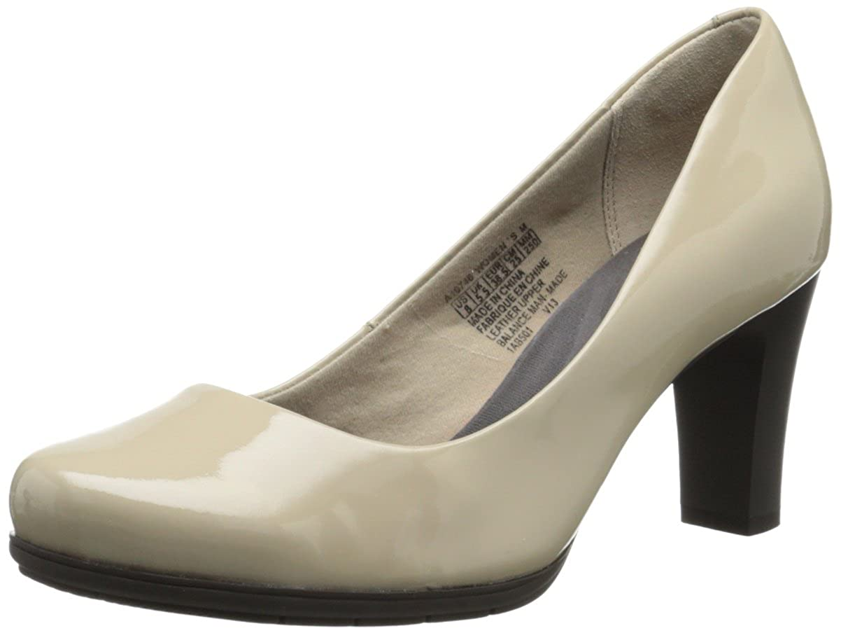 Doeskin Patent Leather Rockport Women's Total Motion Pump