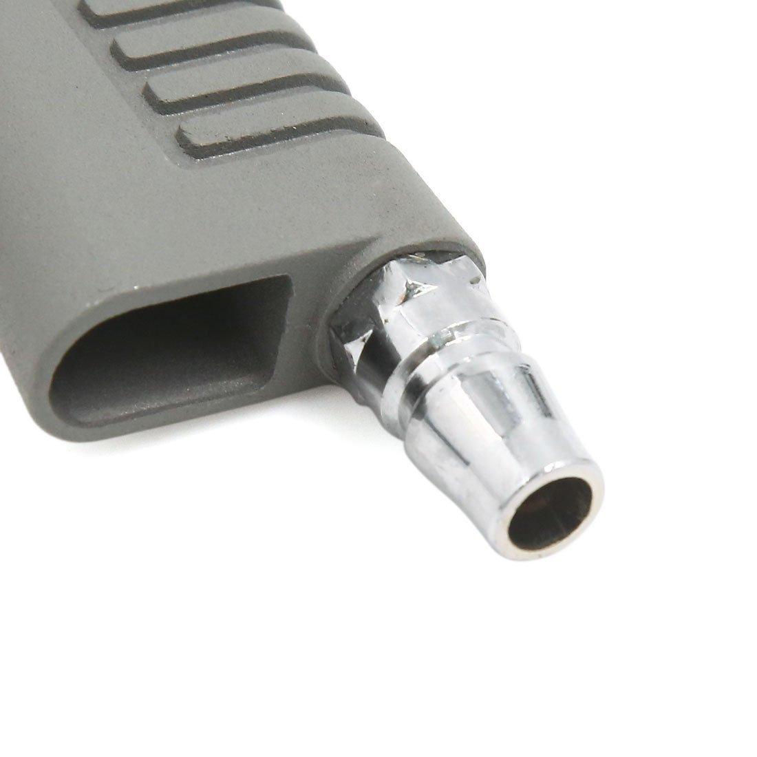 Amazon.com: eDealMax gris metálico DE 12 mm Diámetro de la boquilla Sand Blaster Pistola maneja la herramienta Para el coche automático: Automotive