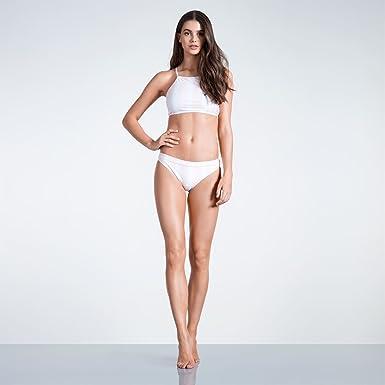 a44f3fae82d2b Soul Cal Womens High Neck Bikini Bottoms  Amazon.co.uk  Clothing