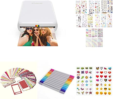 Polaroid Zip - Impresora móvil, Blanco + Set de Regalo: Amazon.es ...