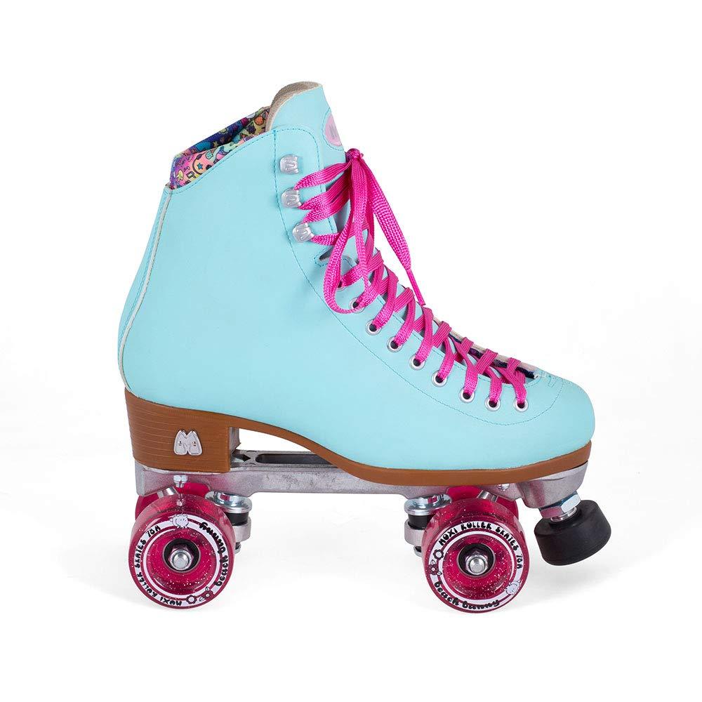 Moxi Skates - Beach Bunny - Fashionable Womens Roller Skates | Blue Sky | Size 2 by Moxi (Image #5)