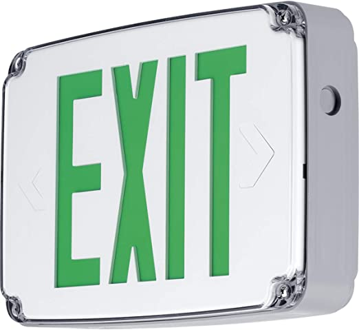 Progress Commercial PEWLE-DG-30 Exit//Emergency Progress Lighting White HI