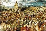 24x36 Poster; Christ Carrying The Cross, Pieter Bruegel 1564