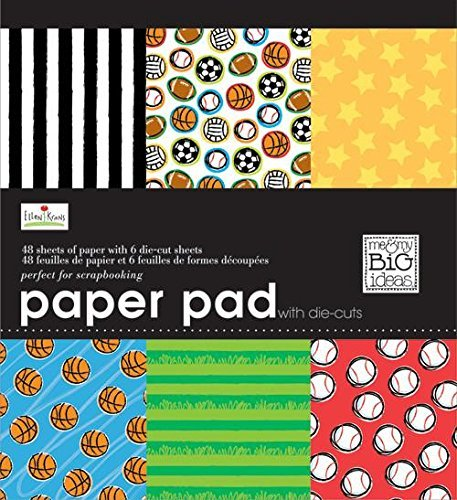 8x8 Paper Pad Scrapbooking - 3