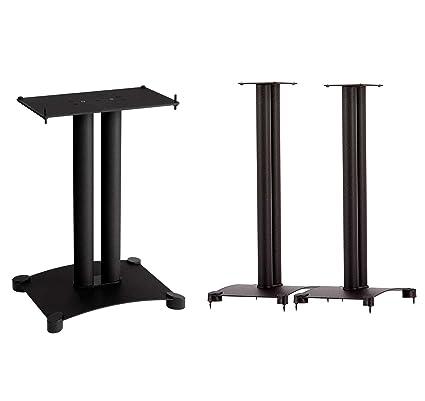 Sanus SFC22B1 Black Each Center Speaker Stand And SF30 B1 Pair
