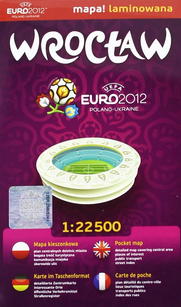 Wroclaw 1:22 500 Euro 2012 Comfort! Map