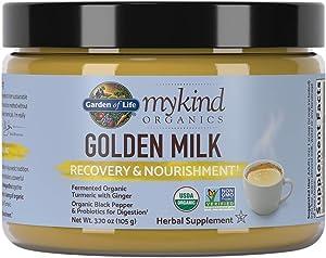 Garden of Life mykind Organics Golden Milk Recovery & Nourishment 3.7oz (105g) Powder