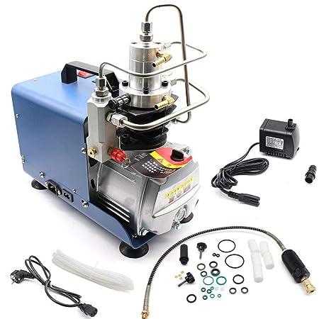 Z&Y Bomba compresora eléctrica PCP Sistema de alta presión Rifle 220V 30MPa 1.8KW Compresor de aire de alta presión de la bomba de aire eléctrico: ...