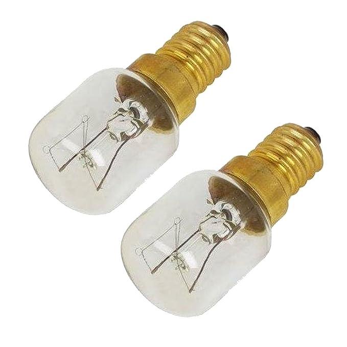 SPARES2GO Pygmy Light Bulb Lamp for Rangemaster Oven Cooker 15w, SES, E14