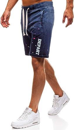 BOLF Hombre Pantalón Corto Pantalones Deportivo Pantalón de ...