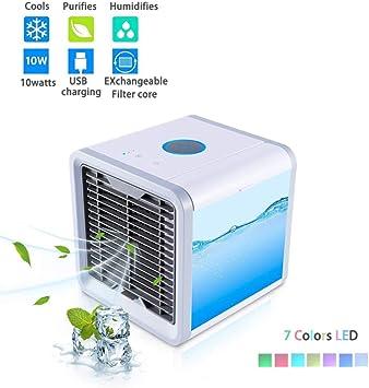 tracffy Mini Air conditional, personales Aire enfriador, 3 en 1 ...