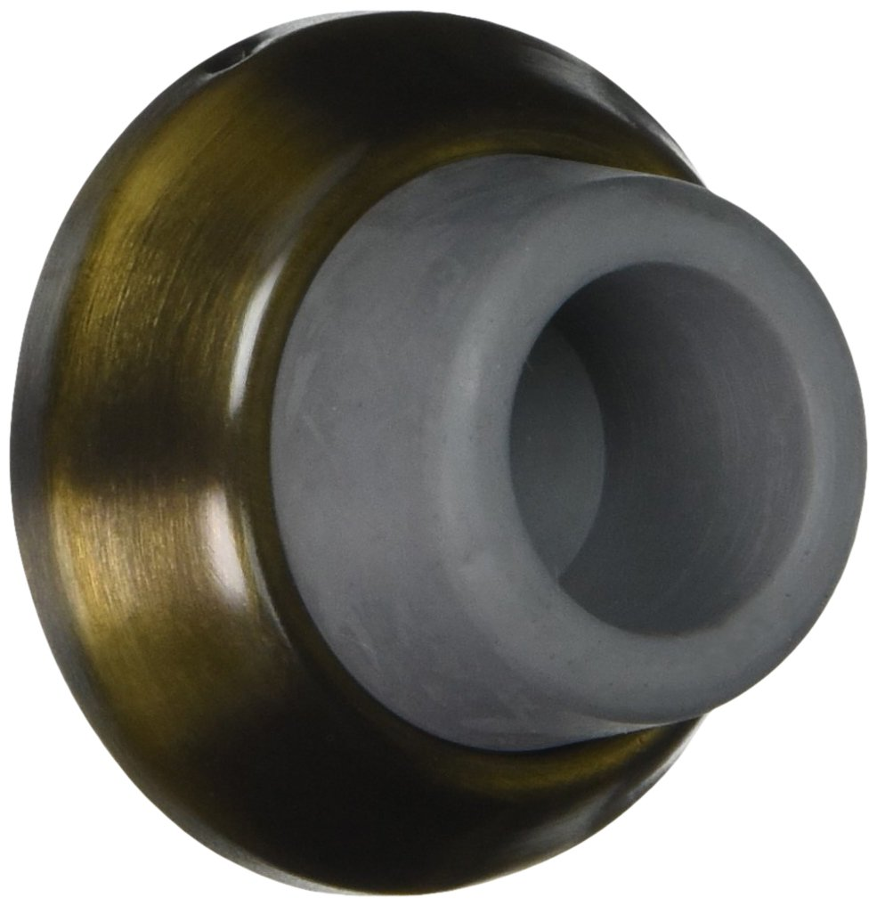 Deltana WB178CR003 17/8-Inch Diameter Solid Brass Concave Flush Bumper Top Notch Distributors Inc. (Home Improvement)