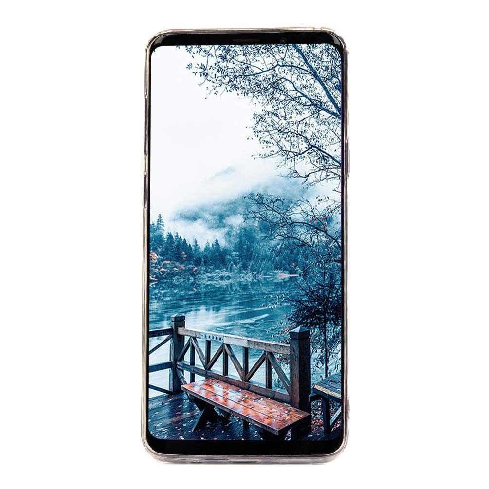 Galaxy S9 Plus Case, S9 Plus Cover Ultra Slim HD Clear & Full TPU Soft Shockproof Drop Pretective Skin Shell for Samsung Galaxy S9 Plus 2018 Version, Red Heart by SUPWALL (Image #5)