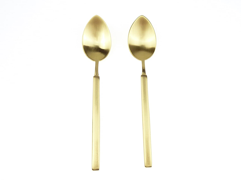 6 COFFEE Spoons/cuchara para café/té Cuchara Vintage Old Oro de herdmar: Amazon.es: Hogar