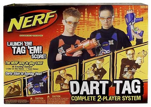 (Hasbro Nerf Dart Tag - 2 Player Set)