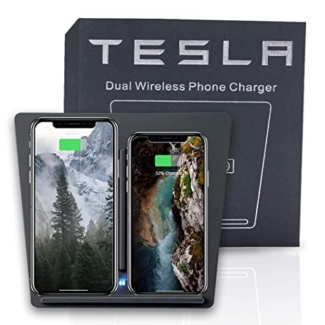 Amazon.com: ROCCS Tesla - Cargador inalámbrico para Tesla ...