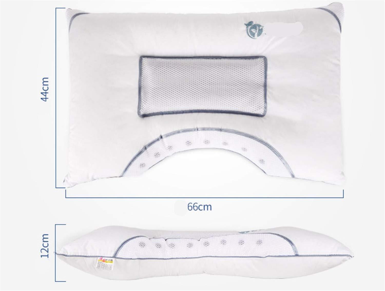 定番  ベッド枕 cm、クイーンサイズ自然綿Argyi葉低反発枕クッション人間工学に基づいたデザイン簡単クリーンソフトマッサージ平野ホワイト、66 B07N38KY66* 12 44* 12 cm B07N38KY66, 創寿苑:66f5db85 --- a0267596.xsph.ru