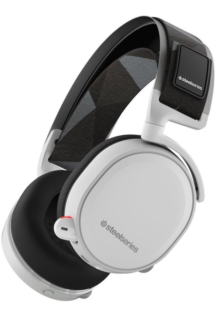 SteelSeries Arctis Pro GameDAC - Auriculares de Juego - Sonido de Alta resolución Certificado - Chip ESS Sabre DAC - Blanco