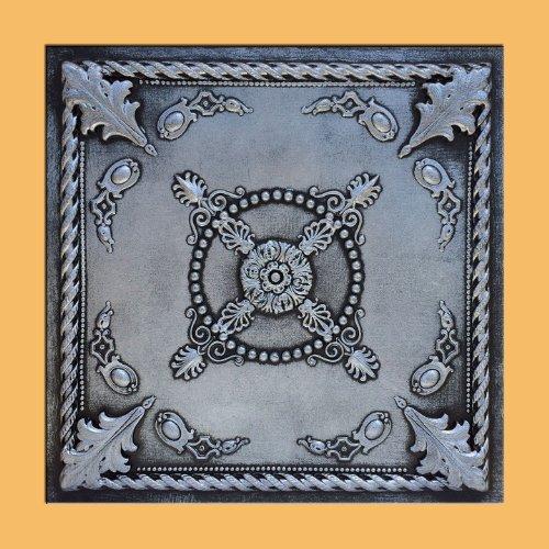 (Jewel Silver/Black (24x24