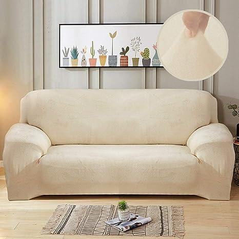 WAXCC Navidad Funda de sofá de Tela de Felpa Funda de sofá ...