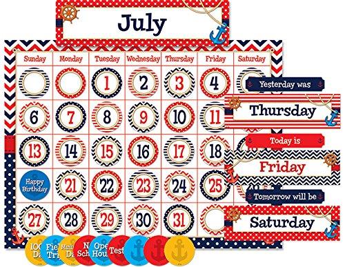 - Teacher Created Resources Nautical Calendar Bulletin Board (5492)