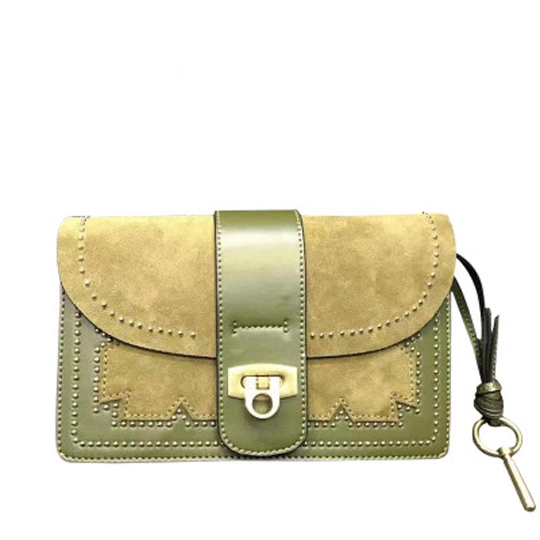 Women's Square Rivet Mini Bag Handbag Shoulder Bag (Color : 1)