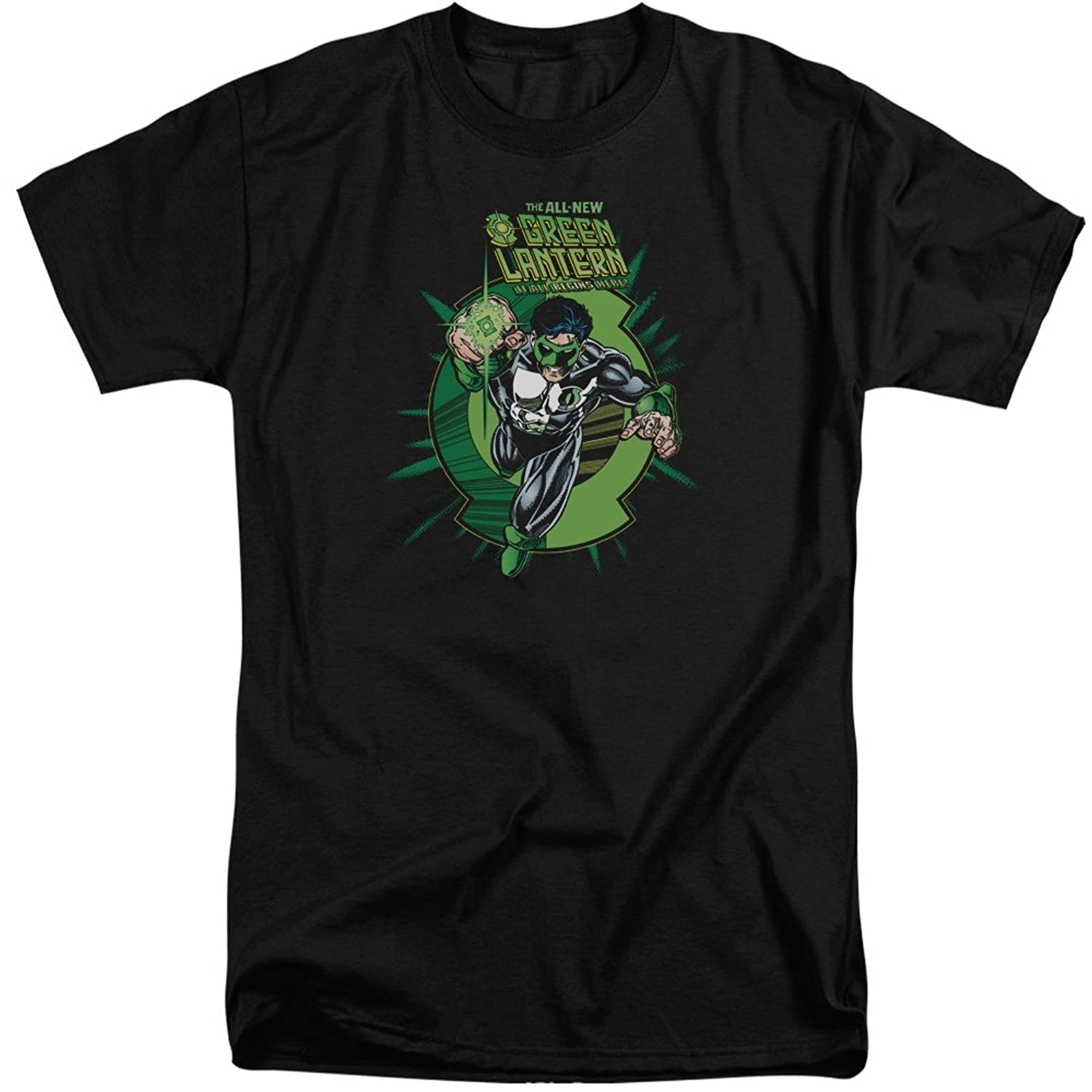Green Lantern Men's Rayner Cover Tall T-Shirt