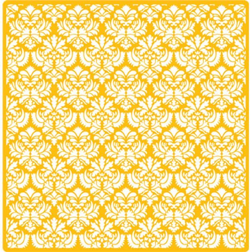 Designer Decorating Stencil Small Damask, Overall Measures 23''H x 23''W by Designer Stencils (Image #1)