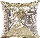 Rock patchwork pillow