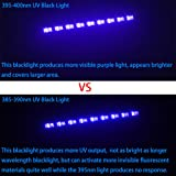 WOWTOU 385nm UV LED Black Light Bar Professional