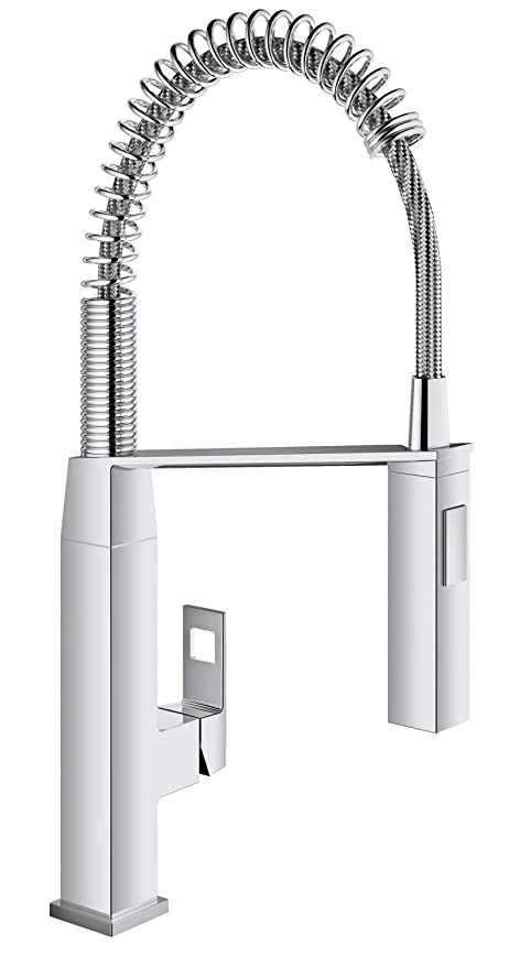 GROHE Miscelatore Cucina Eurocube, Cromo, 31395000: Amazon.it: Fai da te