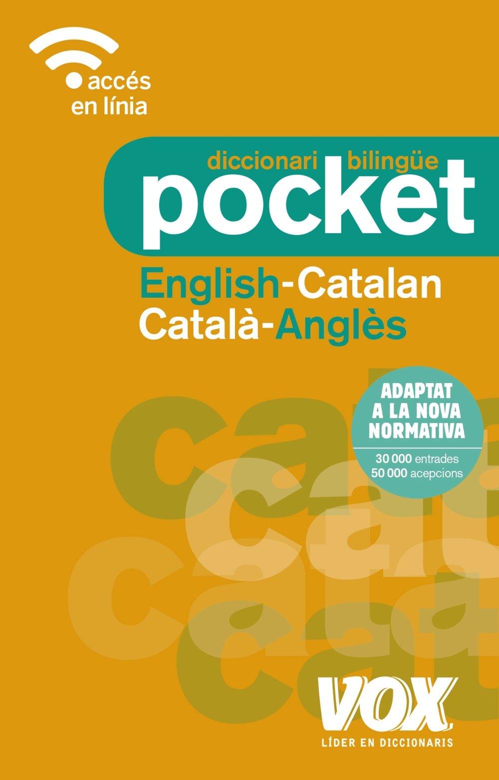 Diccionari Pocket English-Catalan / Català-Anglès VOX - Lengua Catalana: Amazon.es: Vox Editorial: Libros