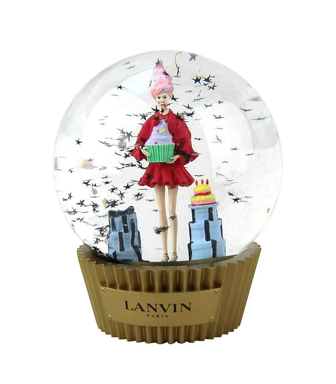 LANVIN Boule a Neige Snow Ball Paris Christmas Globe