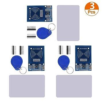 Amazon.com: Organizador RFID Kit, MFRC RC522 RFID-RC522 RF ...