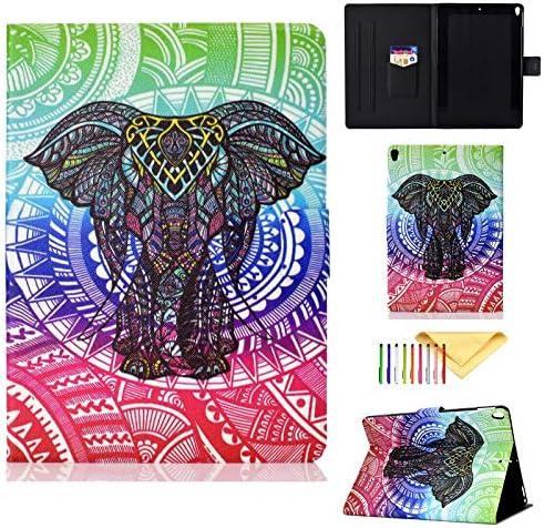 Cookk Colorful Pattern Leather Elephant
