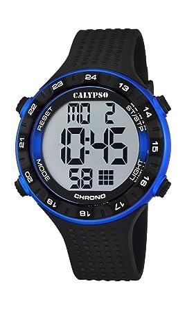 Calypso watches K5663/2 - Reloj de pulsera hombre, plástico, color negro: Amazon.es: Relojes