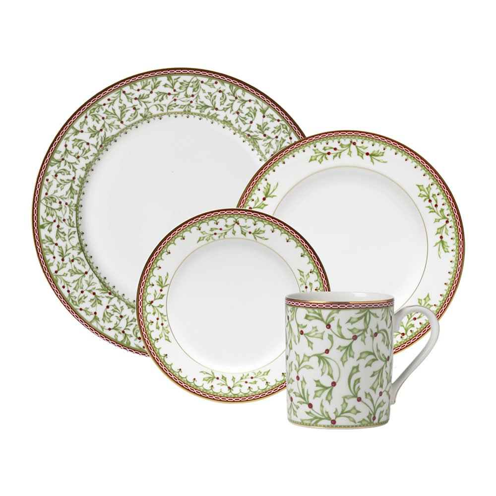 Mikasa Holiday Traditions 16-Piece Dinnerware Set Service for 4