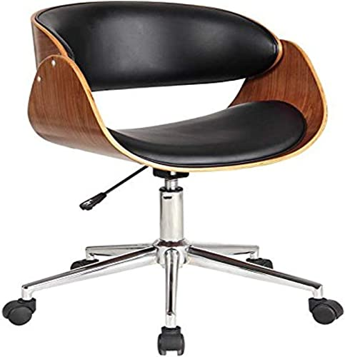 Neos Modern Furniture Modern Collection PU Leather Height Adjustable Swivel Computer Chair