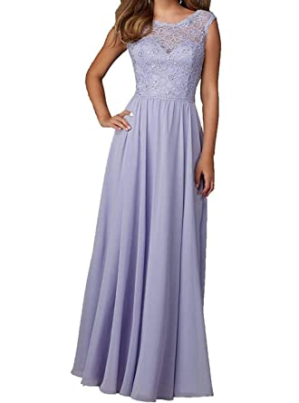 Solovedress Womens Lace Evening Prom Dress Chiffon Mother of The Bride Dress: Amazon.co.uk: Clothing