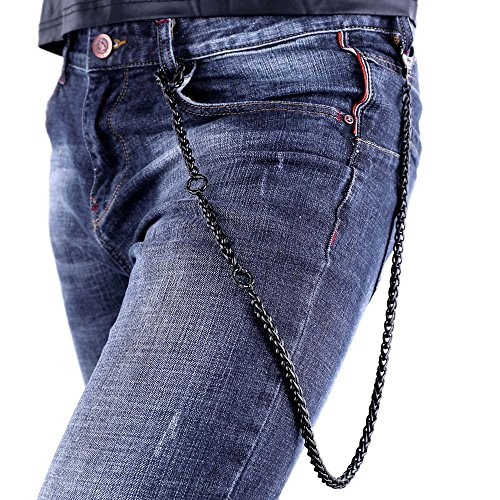 Wallet Chain Twisted Stainless Steel