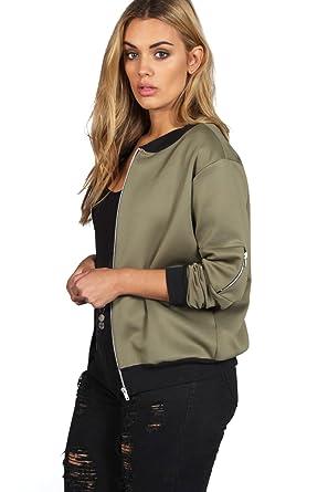 online Auf Abstand Entdecken Sie die neuesten Trends Khaki Plus Amanda Ma1 Bomberjacke - 26: Amazon.de: Bekleidung