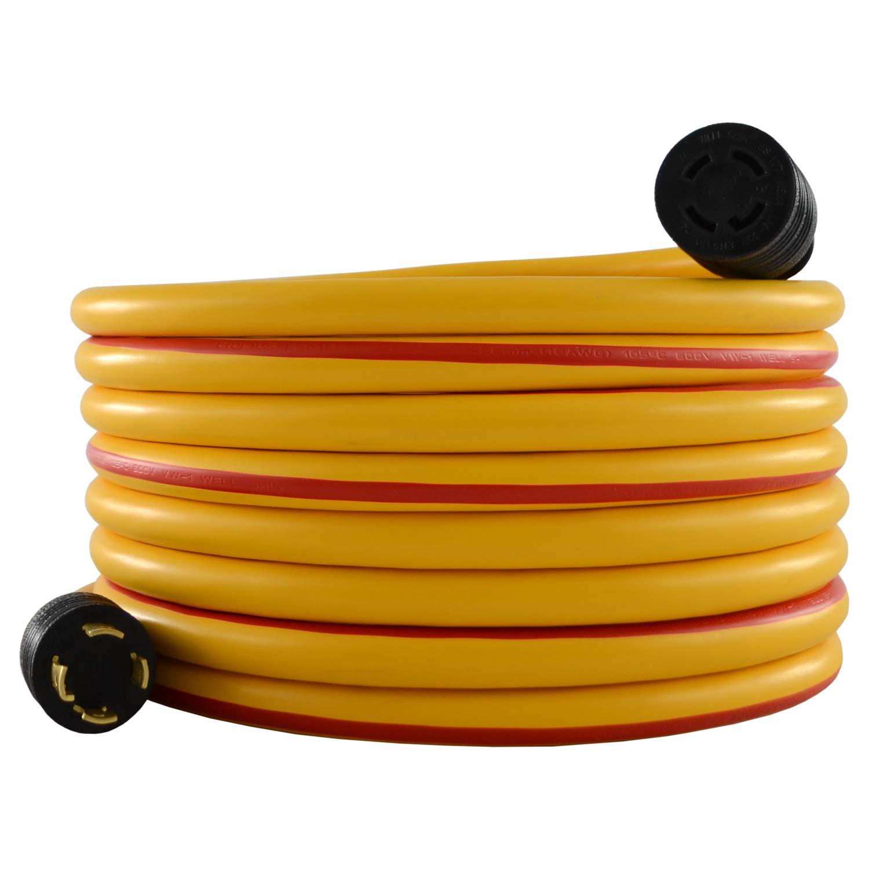 Cat Caterpillar CKG430-025 L14-30 4-Prong 30 Amp Generator Cord (25 Feet)