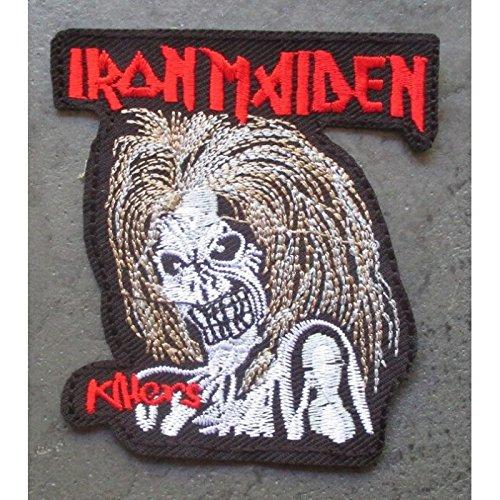 hotrodspirit Patch Iron Maiden Groupe Hard Rock ecusson thermocollant