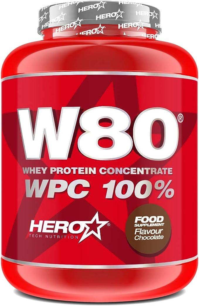 W80® - Concentrado de proteina de suero Sabor Chocolate ...