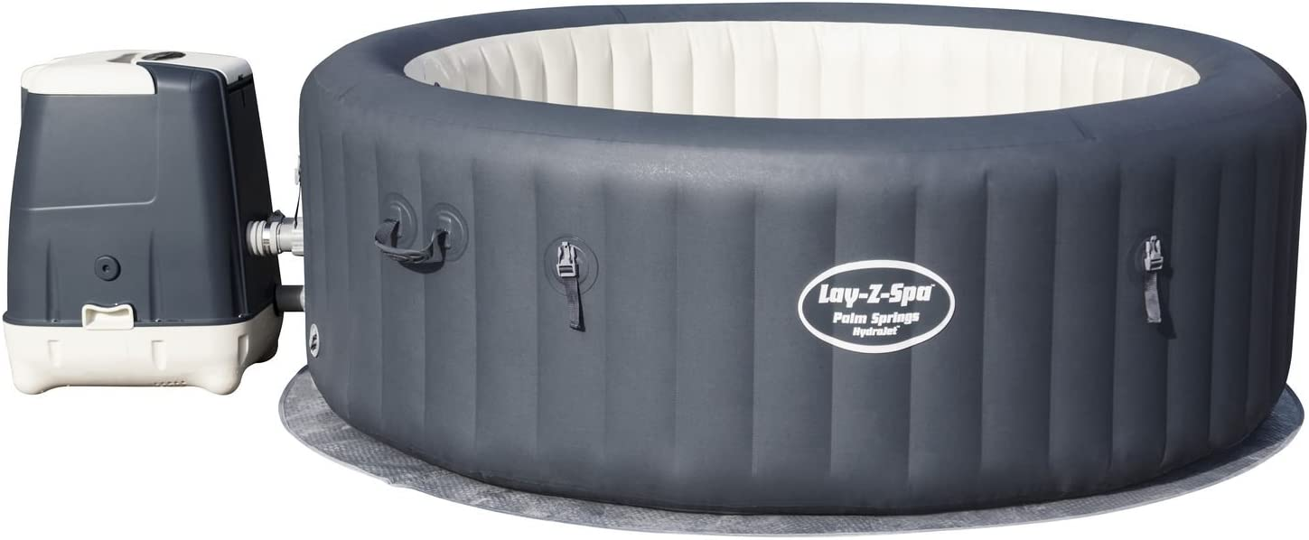 Bestway Lay- Z-Spa Palm Springs HydroJet Spa Hinchable: Amazon.es ...