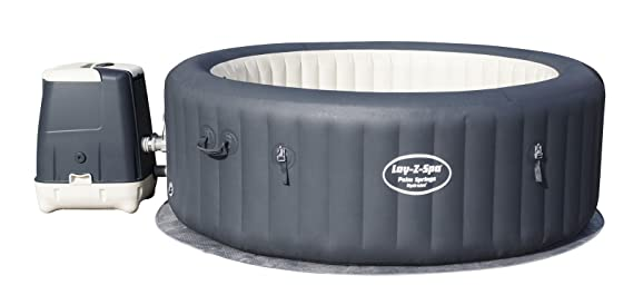 Bestway Lay- Z-Spa Palm Springs HydroJet Spa Hinchable ...