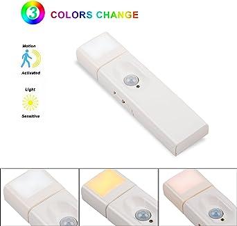 aokairuisi Sensor de movimiento luz nocturna Pro – Regleta de iluminación, la iluminación de escalera: Amazon.es: Iluminación