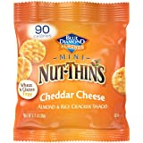 Blue Diamond Nut Thins Cheddar Cheese, 0.71 Ounce (Pack of 6)